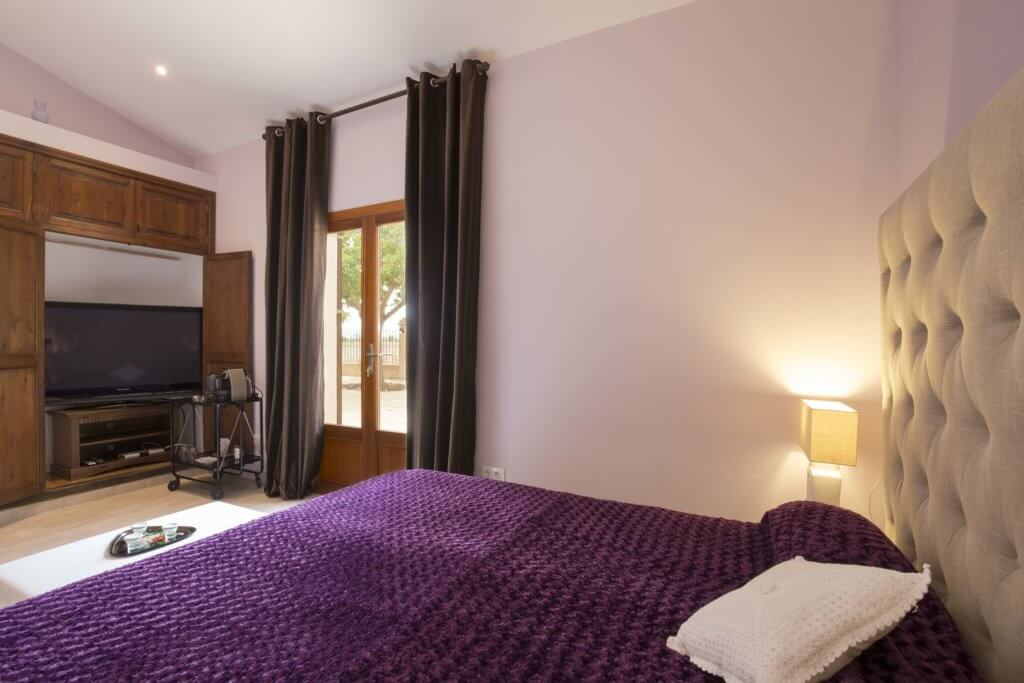 Purple Room - Gartenzugang