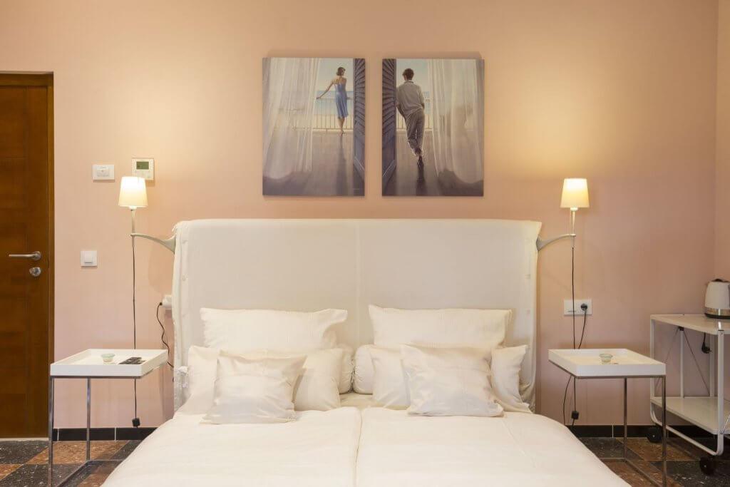 Rose Room - Großes Doppelbett