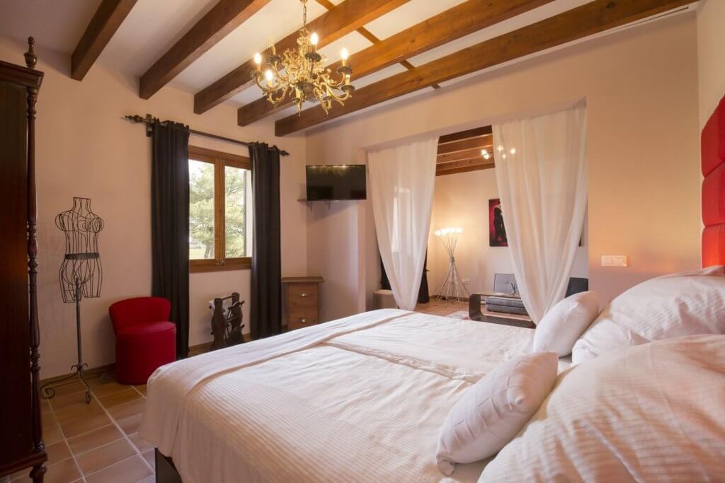 EsPouet Suite: erste Schlafzimmer