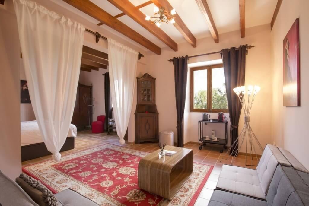 Suite: erste Schlafzimmer