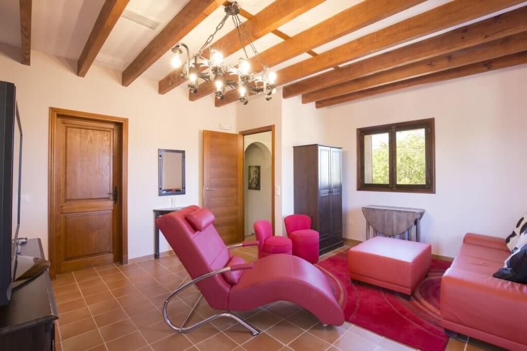 Suite: das Wohnzimmer