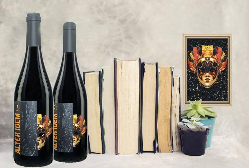 Luxus Wein - Alter Idem